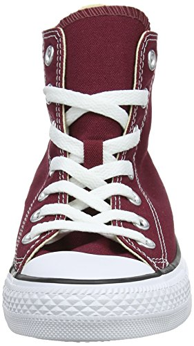 High Classic Sneakers Unisex Top Style Star Canvas Uppers Converse in Taylor and and Chuck Durable Color Maroon Casual All Red XdSwvq