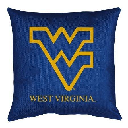 Sports Coverage NCAA West Virginia Mountaineers Locker Room (West Virginia Pillow)