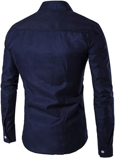 Mr.BaoLong&Miss.GO Nuevas Camisas De Hombre Camisas De Corte ...