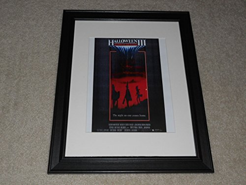 Halloween III 1982 Season of the Witch Theatrical Poster Framed Print Mini-Poster