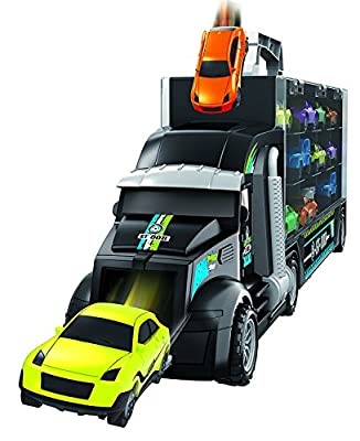 Pidoko Kids Transport Car Carrier Truck - Includes Accessories - Limited Edition Toy Play Set or Gift for Boys and Girls
