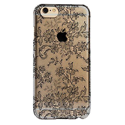 Agent18 iPhone 6 Plus / iPhone 6S Plus Case - SlimShield - Clear / Fishnet Lace - Retail Packaging