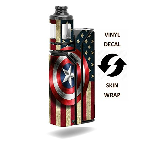 DECAL STICKER Wismec Reuleaux RX75 Kit Vape E-Cig Mod Box Vi