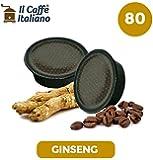 80 capsule compatibili Lavazza a modo mio - 80 capsule Ginseng compatibili macchina caffè Lavazza a modo mio - Macchina caffè Lavazza kit 80 capsule compatibili - Il Caffè Italiano