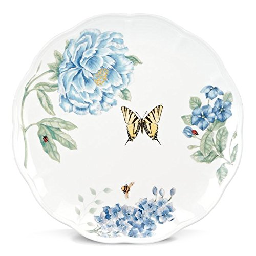Lenox Butterfly Meadow Blue Dinner (Lenox Blue Plate)
