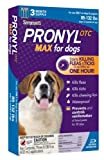 Sergeant's Pronyl OTC Max Dog Flea and Tick Sqz-On Flea Drops 89 to132-Pound, 3 Count, My Pet Supplies