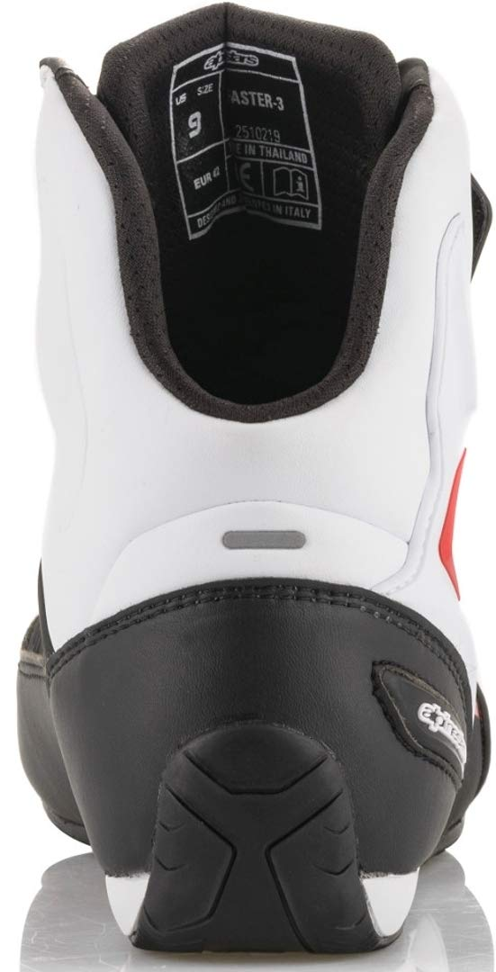 10.5, Black//White//Red Alpinestars Faster-3 Shoes