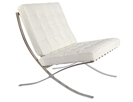 Amazon.com: Barcelona Style Modern Pavilion Chair Couch Sofa ...
