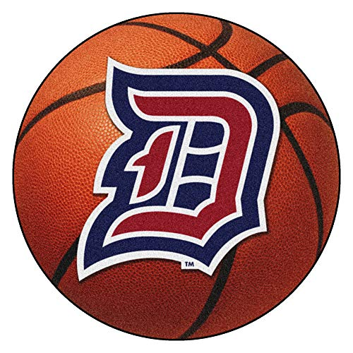 FANMATS NCAA Duquesne University Dukes Nylon Face Basketball Rug