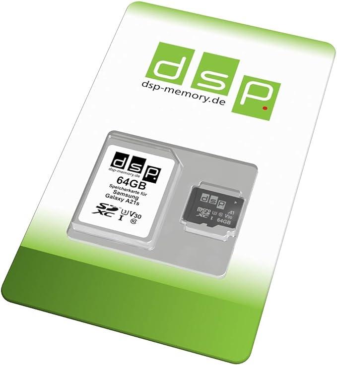 Dsp Memory 64gb Speicherkarte Für Samsung Galaxy A21s Computer Zubehör