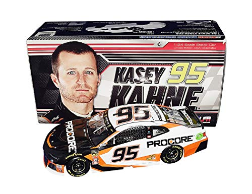 AUTOGRAPHED 2018 Kasey Kahne #95 Pro Core Team RETIREMENT FINAL SEASON (Leavine Family Racing) Monster Cup Signed Lionel 1/24 Scale NASCAR Diecast Car with COA (#091 of only 865 produced!) (Kasey Kahne Diecast 2018)