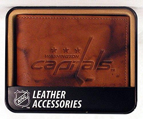 NHL Embossed Billfold Wallet NHL Team: Washington - Capital Billfold