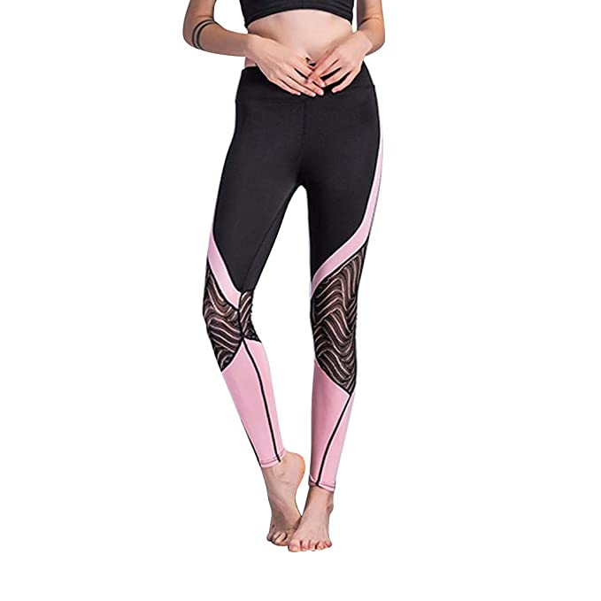 better price casual shoes 100% original PASATO Yoga Pants for Women Sports Ladies Lace Stitching ...