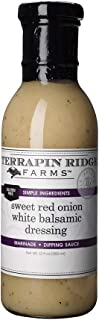 product image for Terrapin Ridge Farms Sweet Red Onion White Balsamic Dressing 12 FL OZ (Pack of 6)