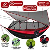 Kinfayv Camping Hammock with Mosquito Net And Rain