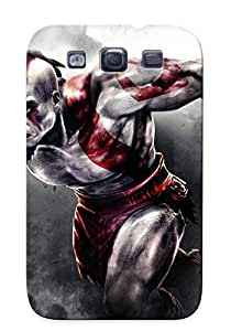 For Galaxy Case, High Quality God Of War 3 For Galaxy S3 Cover Cases / Nice Case For Lovers' Gifts
