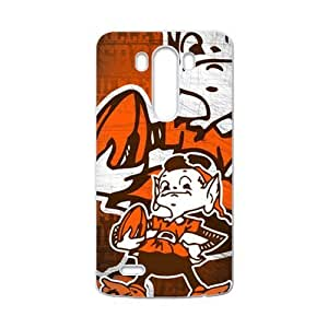 Hoomin Funny Cleveland Browns Design LG G3 Cell Phone Cases Cover Popular Gifts(Laster Technology)