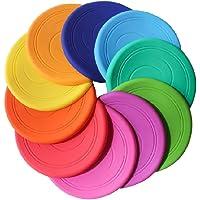 Frisbee Flying Disc Nicht rutschen Soft Silikon Spielzeug Eltern Kind Zeit Outdoor Sport 2 Stück