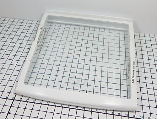 GE Refrigerator WR32X10381 OEM Sliding Glass Shelf Assembly