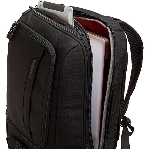 eBags Professional Slim Laptop Backpack (Solid Black) by eBags (Image #3)