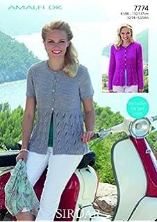 0d4fb3c232b7 Sirdar Click Chunky Ladies Knitting Pattern 8747  Amazon.co.uk ...