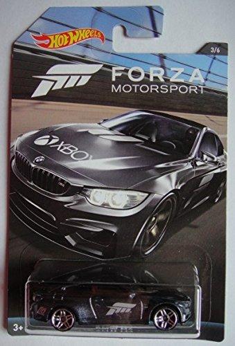 Hot Wheels 2017 Forza Motorsport BMW Model M4 3/6, Dark Gray