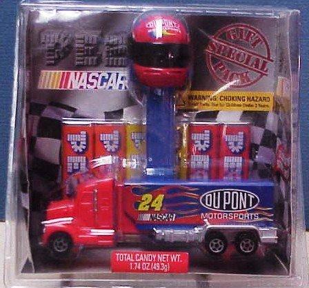 NASCAR Jeff Gordon's Truck PEZ Set by PEZ Candy