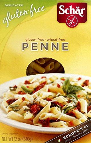 Schar, Gluten Free Penne Pasta, Pack of 10, Size - 12 OZ, Quantity - 1 Case by Schar