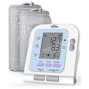 Aickar Blood Pressure Monitor, Upper Arm Blood Pressure Machine, FDA Approved BP Monitor, Blood Pressure Monitors with Medium & Large Size Blood Pressure Cuff