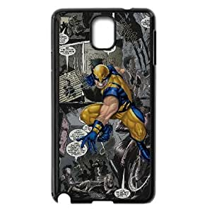 Personality customization TPU Case with Marvel Samsung Galaxy Note 3 Cell Phone Case Black