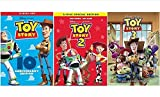 Toys : Black Series Toy Story Trilogy DVD Movie The Complete Collection 1, 2, 3 All 3 Parts