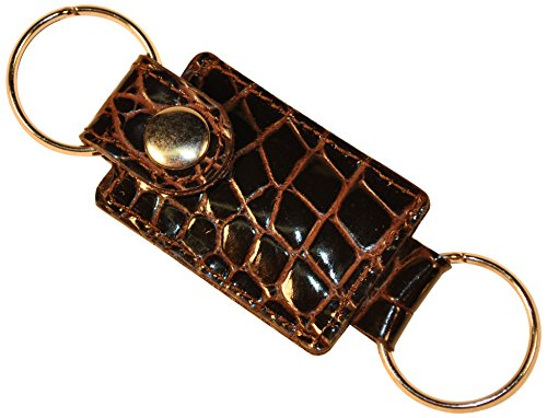 budd-leather-croco-bidente-key-ring-with-valet-snap-brown