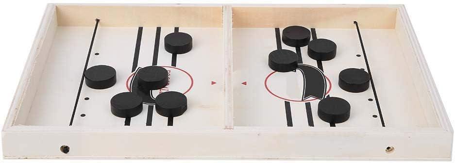 Zerodis Tablero de ajedrez con 10 Piezas de ajedrez Juegos de Mesa Hockey Catapulta Ajedrez Interactivo Entre Padres e Hijos Juguete recreativo casero Juguetes multifuncionales(UNA): Amazon.es: Juguetes y juegos