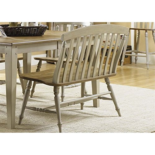 Bench Slat Back (Liberty Furniture 541-C9000B Al Fresco Dining Slat Back Bench, 42