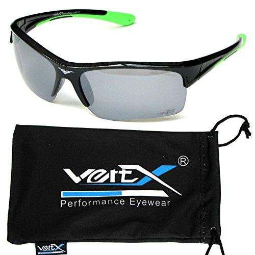 lunettes masculine Noir nbsp;châssis nbsp;courseextérieure nbsp;des Cadre et VertX nbsp;Sport Fumée nbsp;Double nbsp;polarisés Lentille Vert nbsp;soleil nbsp;Injection nbsp;Cyclisme de tfUqdx1