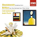 Symphony No 4 / Four Sea Interludes