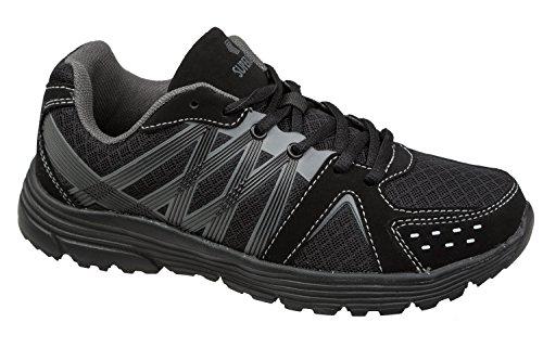 gibra - Zapatillas de textil/sintético para mujer negro