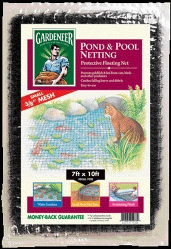 Dalen PN10 7-Foot by 10-Foot Pond Netting 3/8-Inch Mesh by Dalen