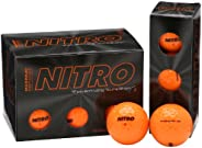 Nitro Bola de golfe de distância máxima (pacote com 12)