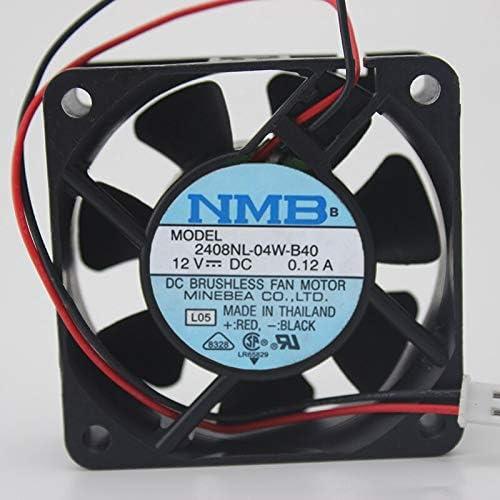 NMB 2408NL-04W-B40 6020 6cm 60 60 20MM 12V Double Ball Industrial Power Fan