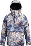 Burton Hilltop Snowboard Jacket No Mans Land Mens Sz L