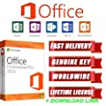 Microsoft Office 2016 Professional Plus GENUINE PRODUCT KEY & DOWNLOAD LINK 5 PC License