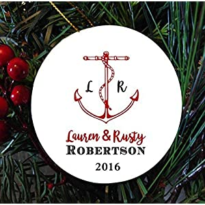 51nQAvAcGbL._SS300_ Best Anchor Christmas Ornaments