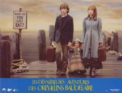 Lemony Snicket's A Series of Unfortunate Events Poster Movie French F