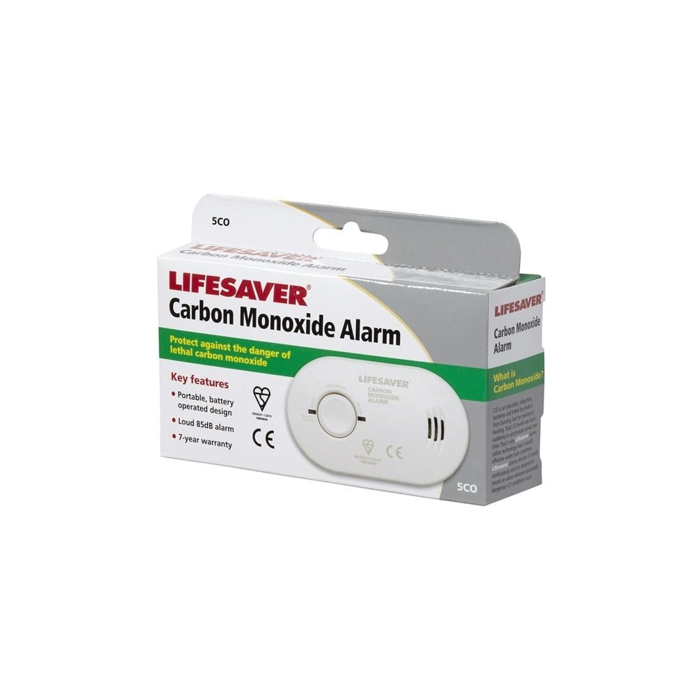 Kidde Lifesaver Alarma de monóxido de carbono 5 CO Twin Pack: Amazon.es: Hogar
