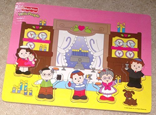 fisher price wooden people - 2