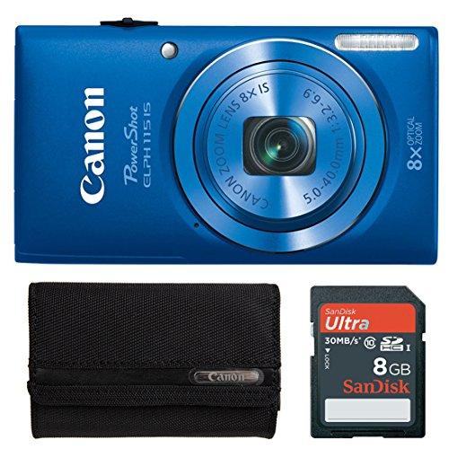 PowerShot ELPH 115 IS 16MP Digital Camera with 8x Optical