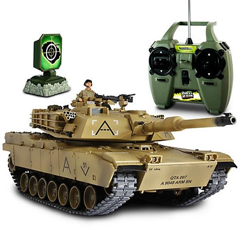 Forces of Valor Radio Controlled U.S. Abram Tank, 1:24 ()