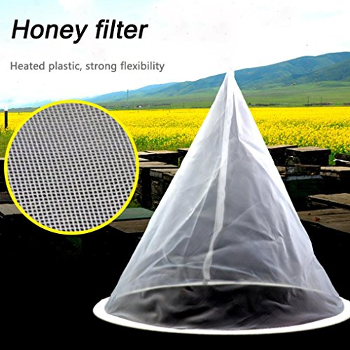 LiPing Beekeeping Beekeeping Honey Strainer Filter Net Honey Strainer Honey Bucket Honey Tools (A) ()