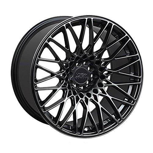 XXR Wheels 553 Chromium Black Wheel with Painted Finish (16x8.25
